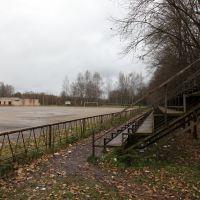 Стадион для игры в мотобол (или то, что от него осталось), Новополоцк