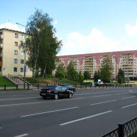 Перекресток ул. Молодежная и Калинина 07.2010, Новополоцк