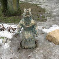 Памятник лисе / Memorial to the fox, Орша