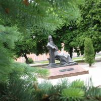 Monument to Simiaon Polacki, Полоцк