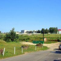 Вид от монастыря, Полоцк