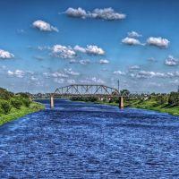 Лето 2010. Полоцк. река Западная Двина, Полоцк