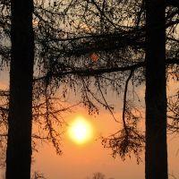 Закат на бывшем старом кладбище (13.04.2010), Поставы