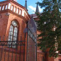 Pastavy church of St. Anthony of Padua. Паставы, Поставы
