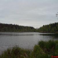 озеро Комарынец, Россоны