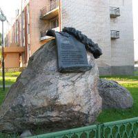 Камень-памятник, Сенно