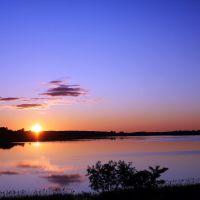Закат над Сенненским озером, Сенно