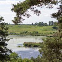 Озеро Сукременское. Вид со стороны парка 40 - летия Победы, Сенно