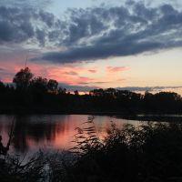 Рыбалка на закате, Сенно