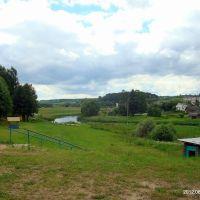 Вид на реку, Ушачи