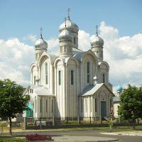 Eastern Orthodox cathedral in Svetlahorsk, Belarus, Белицк