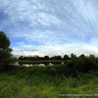 Pronja river, Mogilev region, Белицк