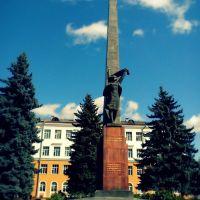 Помнік героям загінуўшым за свабоду і незалежнасць нашай Радзімы ... Monument to the heroes who died for the freedom and independence of our homeland, Гомель