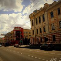 Гэта самая галоўная вуліца Гомеля - вуліца Савецкая ... This is the main street of Gomel - Sovetskaya street, Гомель