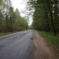 Дорога в центр Житкович, Житковичи