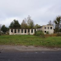 ПТУ №182, заброшенный корпус, Житковичи