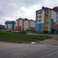 ул. Коцюбинского, новые дома, Житковичи