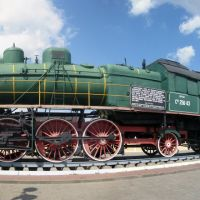 Локомотив на вокзале г.Жлобин, Жлобин