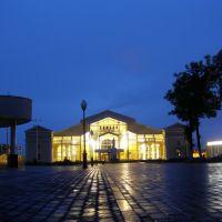 Вокзал вечер, Жлобин