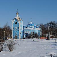 Церковь в г. Калинковичи A church in Kalinkovichi, Калинковичи