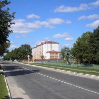 Лельчицы - новые дома по улице Ленина, Лельчицы