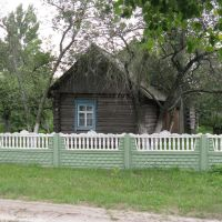 Старая хатка (Old wooden house), Лельчицы