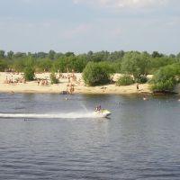 Мозырский пляж, Мозырь