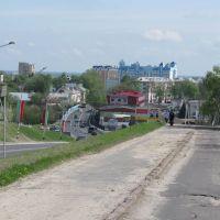 view on the street Ryzhkov 2, Мозырь