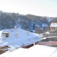 Вид с ул. Ленинской View from Leninskaya str., Мозырь