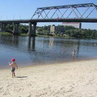Mozyr. Bridge, Мозырь