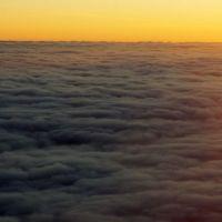 view from plane, Октябрьский