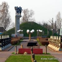 Д. Сычково. Курган Славы, Октябрьский