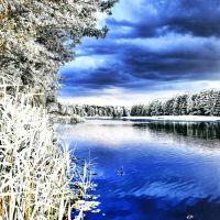Река Свислочь в Лапичи/river Svisloch in Lapichi, Октябрьский