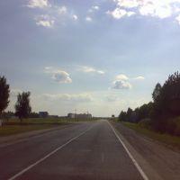 На въезде в Петриков, Петриков