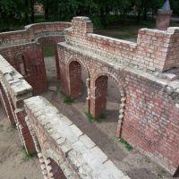 Ruins of a fairy playground - view from above, Светлогорск