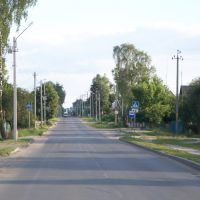 Street in the Settlement of Oil Industry Workers, Светлогорск