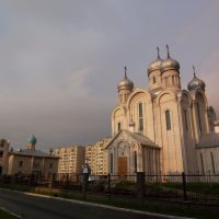 St. Peter and Paul Cathedral and small churches nearby, Светлогорск