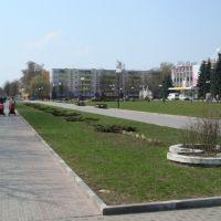 Svetlogorsk, Aleya geroev, Светлогорск