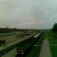 Vaukaviszk-Gorad állomás / Станция Волковыск-Город, 2008, Волковыск
