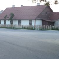 Дом на скрыжаванні вуліц Савецкая і Мопраўская, Волковыск