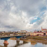 Панорама с Набережной, Гродно