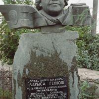 Помнік Ларысе Геніюш, Зельва