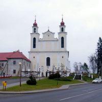 Костел св. апостолов Петра і Павла, Ивье