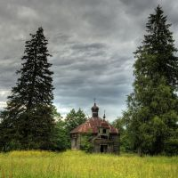 Деревянная церковь в деревне Ляховичи, Козловщина