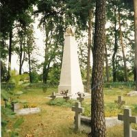 Lida Cmentarz Katolicki(2002r)Kwatera Wojskowa 5 Pułku Lotniczego., Лида