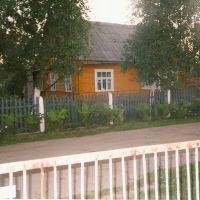 Lida .Domy drewniane z lat 50 XXw., Лида