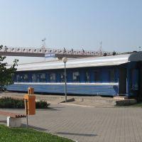 тимчасове приміщення білетних кас ♦ temporary ticket office, Лида