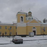 Свято-Михайловская церковь в городе Лида 1863 год, Лида