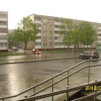 Дождь, Мосты