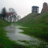 Farny Church & Ruins of the castle in Navahradak, Новогрудок
